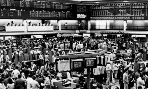 Chicago Mercantile Exchange, Nov. 1984